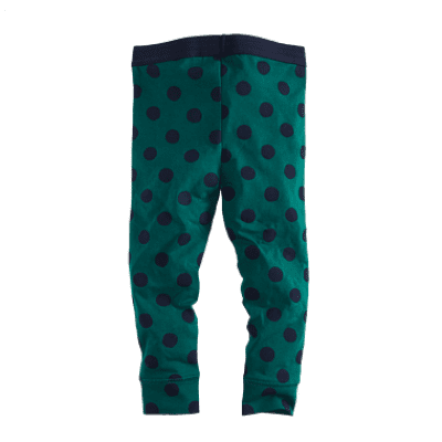 Foto van Z8 girls legging Nicola Bottle green/Navy/Dots (Limited Edition)
