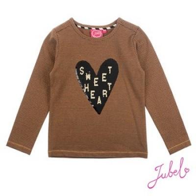 Jubel Sweater All over print Leopard - Lipstick Khaki