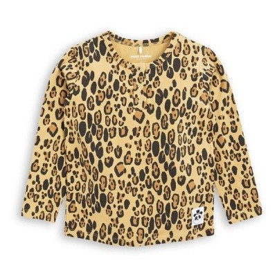 Mini Rodini Leopard shirt Grandpa