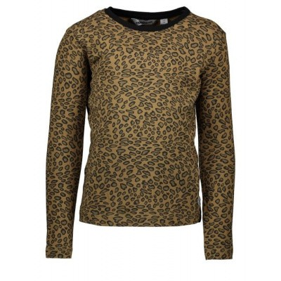 Moodstreet girls longsleeve leopard