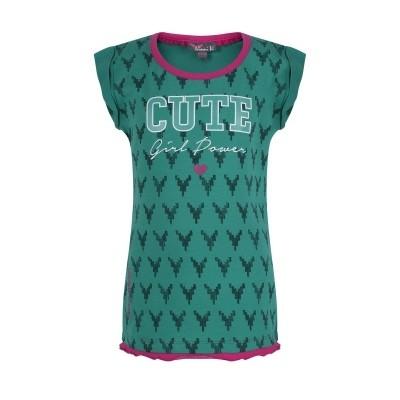 Ninni vi shirt AOP 2 GREEN
