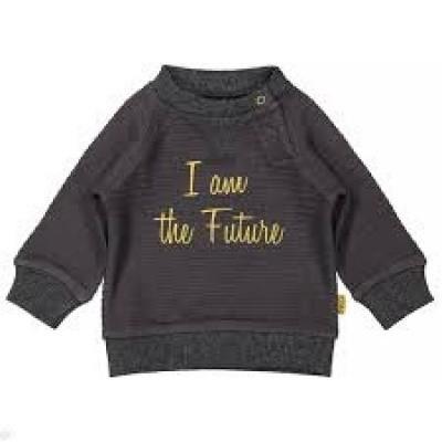 Bess newborn sweater I am the future