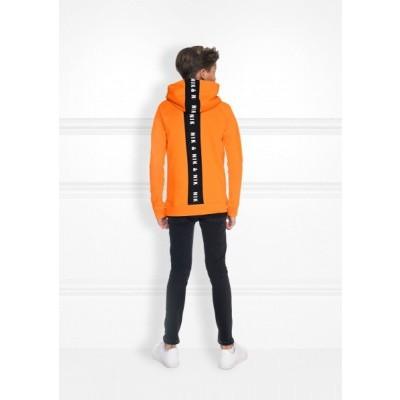 Nik & Nik boys Percy Hoodie Carrot Orange