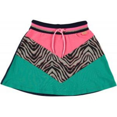 Foto van funky xs colourblock skirt