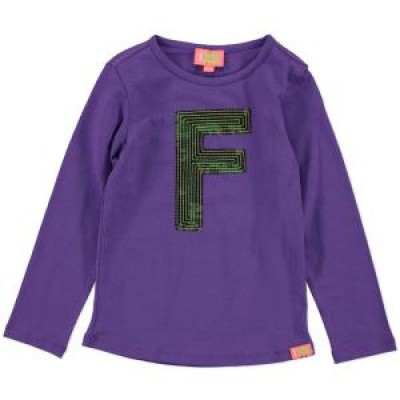Foto van Funky xs tee bright purple