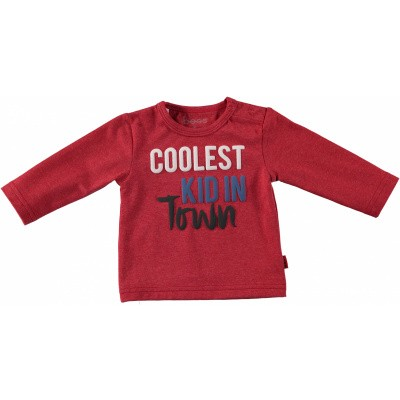 Bess newborn longsleeve coolest kid red