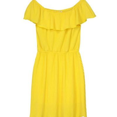 Foto van Nik & Nik girls Bianca Dress Sunny Yellow