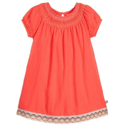 Foto van Billieblush dress neon orange ibiza
