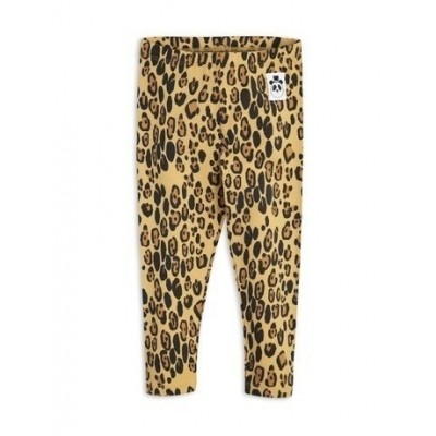 Foto van Mini Rodini Basic leopard leggings