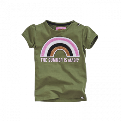 Foto van Z8 baby shirt Esra Army green