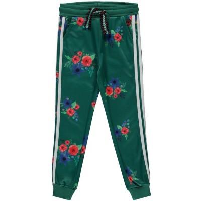 Quapi girls Tiske Pants Forest Green Flower
