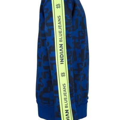 Foto van Indian blue jeans crewneck letter tape sweater