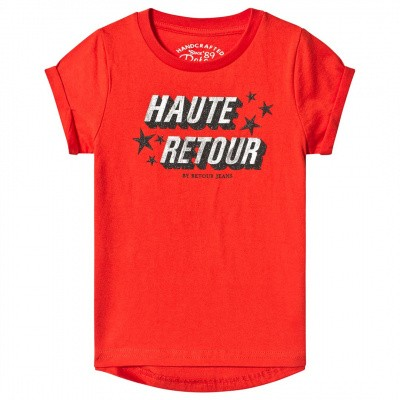 Foto van Retour girls Robyn T-shirt flame orange