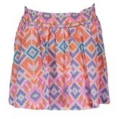 Foto van Kidz-art woven skirt print etnic all over