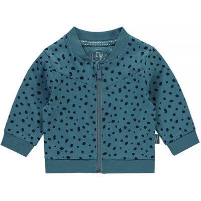 Levv newborn vest Igor dots