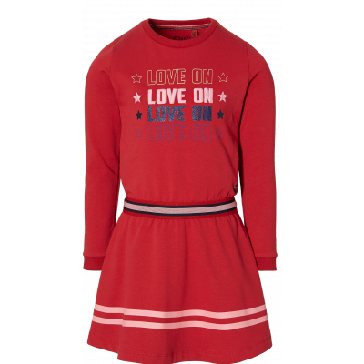 Quapi girls dress Danoul red chill