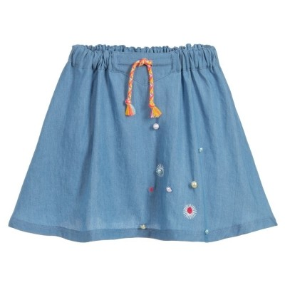 Foto van billieblush skirt denim blue