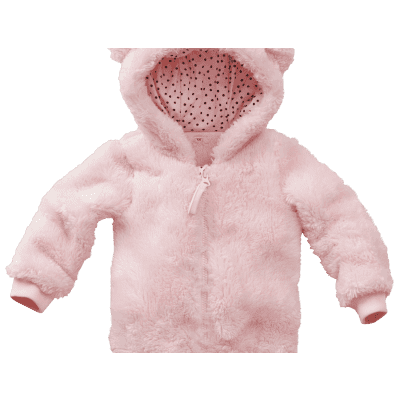Z8 newborn vest Nicky soft pink