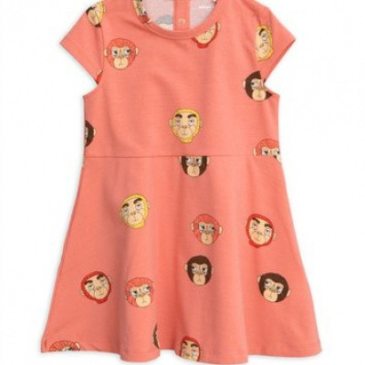 Foto van Mini Rodini monkey top ss dress