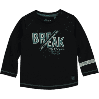 Foto van Quapi baby boy long sleeve Valeer Dark Grey