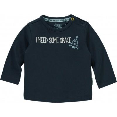 Quapi newborn jongens longsleeve Xammie dark blue