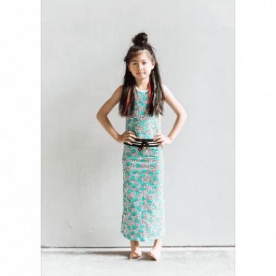 Foto van Little miss Juliette maxi dress multi