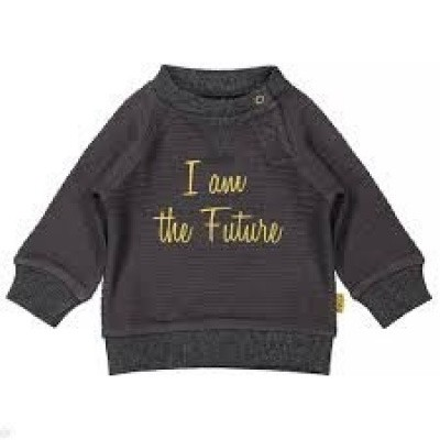 Bess newborn sweater I am the future