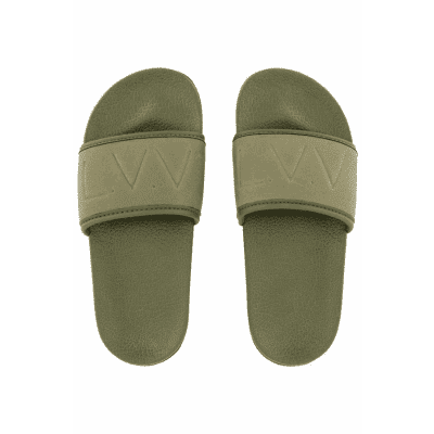 Foto van Levv Boys Slippers Leaf Green