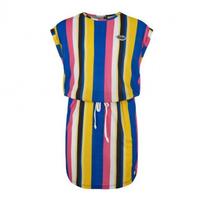 Retour girls dress Salsa multi color stripe
