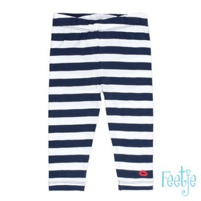 Foto van Feetje baby girls legging streep sea view