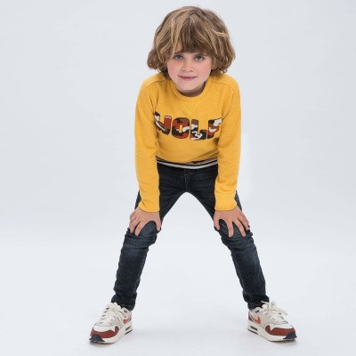 Foto van Tumble n dry boys sweater Vygo golden rod