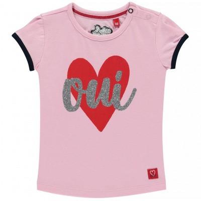 Foto van Quapi baby girl shirt Romana rose pink