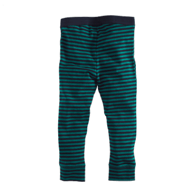 Foto van Z8 Girls Legging Nanneke Navy/Bottle green/Stripes (Limited Edition)