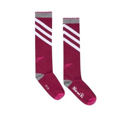Foto van Ninni vi socks 362 dark pink