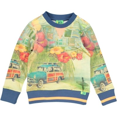 Foto van Funky xs boys BS ALOHA SWEAT multi