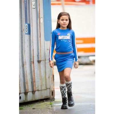 Quapi Abba dress berry blue