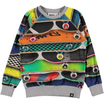 Molo boys sweater Romeo skateboards