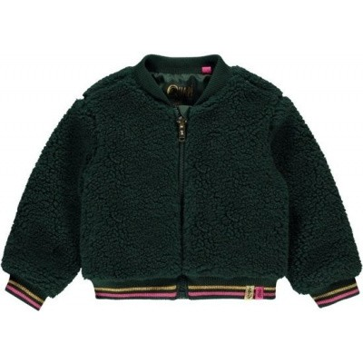 Quapi girls jacket Tifara bottle green