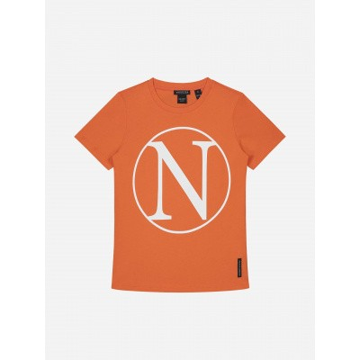 Nik & Nik Girls T-Shirt N-Kim Pumkin Orange
