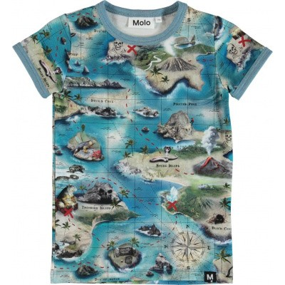 Foto van Molo boys shirt Rad treasure map