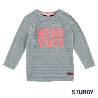 Foto van Sturdy sweater wknd vibes Festival Grijs melange