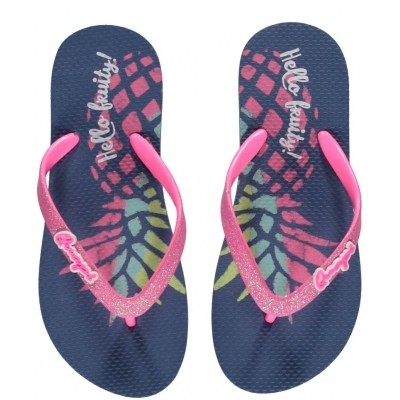 Foto van Quapi girls slipper Kadia Pineapple print