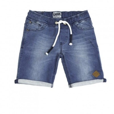Foto van Skurk boys short Boaz jog denim