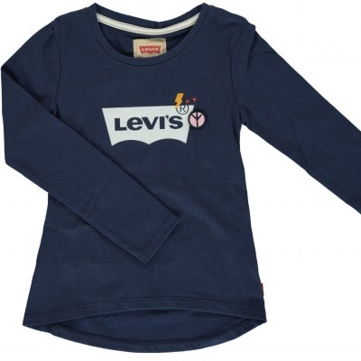levi s girls longsleeve navy
