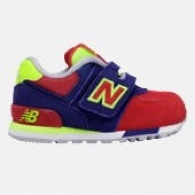 Foto van New balance boys sneaker SNEAKER BLUE/FLUO