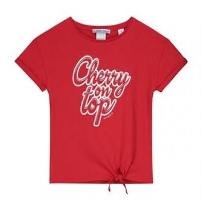 Nik & Nik Girls Loren T-shirt Poppy red