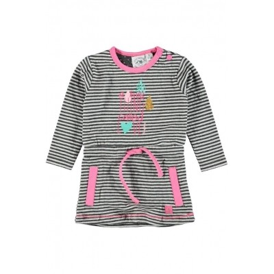 Foto van Bampidano baby dress stripe