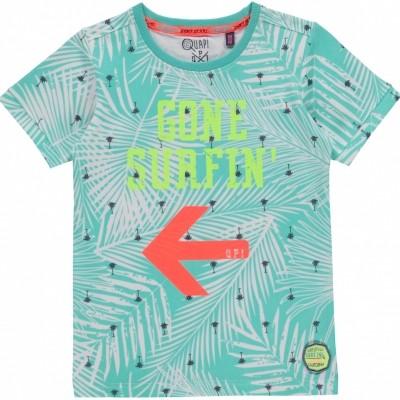 Foto van Quapi boy shirt Karim ocean green