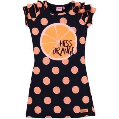 Foto van O`chill dress all over oranges kim