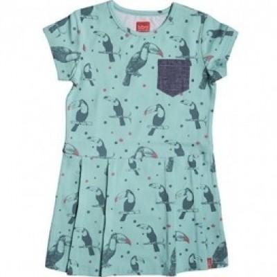 Foto van Beebielove Baby Dress Toucan MNT